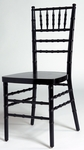 Black Birch Wood Stacking Chiavari Chair with 16''W Seat [SCBLK-AS]
