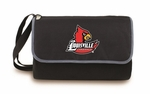 Blanket Tote - Black- University of Louisville Digital Print [820-00-175-304-0-FS-PNT]