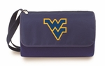 Blanket Tote - Navy- West Virginia University Digital Print [820-00-138-834-0-FS-PNT]