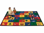 Blocks of Fun Learning Rug [RUGBL100140-VCO]