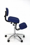 BetterPosture® BetterPosture® Jazzy Deluxe Kneeling Chair - Blue [BP1446BL-FS-JB]