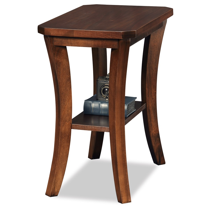 Boa 24 W X 24 H Solid Wood Narrow Chairside Table With