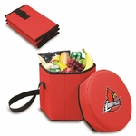 Bongo Cooler - Red- University of Louisville Digital Print [596-00-100-304-0-FS-PNT]