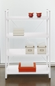 Bookcase w/ 4 Shelves - White