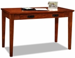 Home Office 48''W x 30''H Boulder Creek Mission Style Writing Desk with Drop Down Front and Slide Out Keyboard Tray - Mission Oak [82400-FS-LCK]