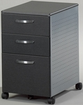 27.5'' H x 22'' D x 15'' W Box Box File Pedestal - Anthracite [992ANT-FS-MAY]
