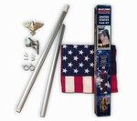 Boxed U.S Flag Kit With Spinning Pole [29834-FS-VAF]