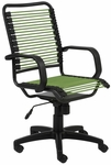 Bradley Bungie Office Chair in Green [02548GRN-FS-ERS]