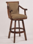 Brandon Swivel Bar Stool [429-432-FS-PO]