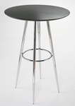 Bravo-B Bar Table in Black [06961A-06962B-FS-ERS]