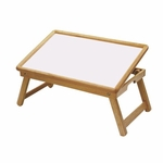 Breakfast Bed Tray with Adjustable Top [98721-FS-WWT]