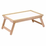 Breakfast Bed Tray with Notched Handle [98821-FS-WWT]