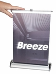 Breeze Retractable Tabletop Banner Stand [BREZ-1-S-FS-OR]