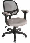 Breezer Mesh Chair - Gray [60-511504-FS-COM]