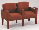Brewster Series 2 Seats with Center Arm [F2453K6-FS-RO]
