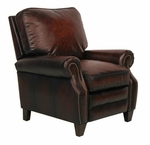 Briarwood II Power Recliner with Stetson Bordeaux [9-4490-STETSON-BORDEAUX-FS-BAR]