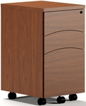 Brighton Mobile Box Box File Pedestal - Cherry [BTBBF20MLCR-FS-MAY]