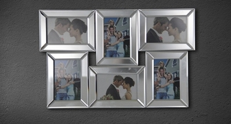 Abbyson Living TM-GC-9186-MIR Brilina Six Framed Picture Mirror at Sears.com
