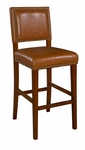 Brook 24''H Counter Stool - Caramel [0232CARM-01-KD-U-FS-LIN]
