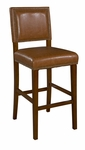 Brook 30''H Bar Stool - Caramel [0233CARM-01-KD-U-FS-LIN]
