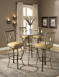 Brookside 3-Piece Bistro Set [4815PTBSDM3-FS-HILL]