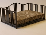 Metal Cocoa Swirl Pet Daybed - Brown [11102-FS-DCON]