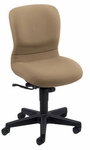 Brylee Compact Management Chair with Black Frame [BR10-E3-FS-UC]