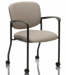 Brylee Guest Chair with Casters [BR32C-E3-FS-UC]
