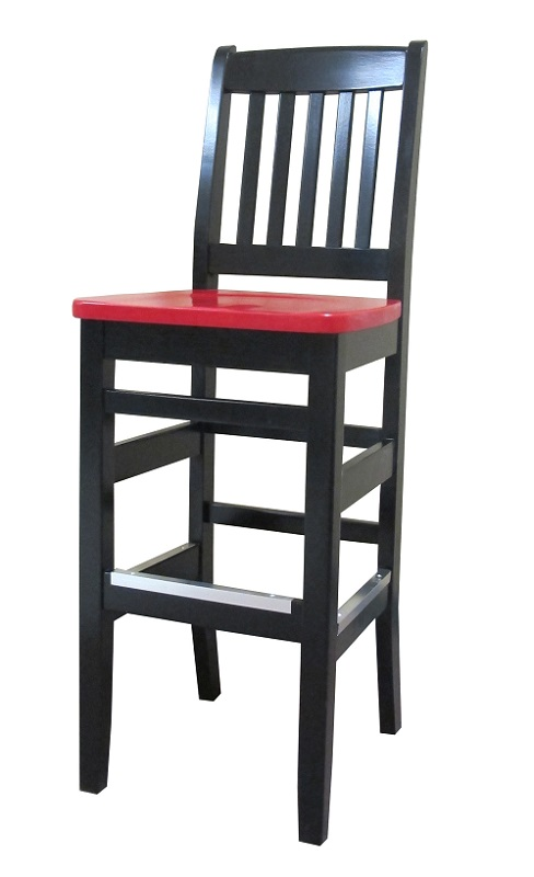 Bubba Bar Stool Wood Seat Bubba Bar Stool By Holsag