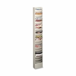 Buddy Curved Pocket Rack - 23 Pockets - 9 3/4'' x 4 1/2'' x 36 3/8'' - PM [BDY086332-FS-SP]