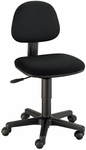 Budget Adjustable Height Task Chair - Black [CH222-40-FS-ALV]