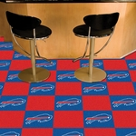 Buffalo Bills Carpet Team Tiles - 18'' x 18'' Tiles - Set of 20 [8544-FS-FAN]