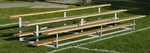 Build-Your-Own 16 Foot Long 3 Tier Outdoor Bleacher [BYOB163-BIS]