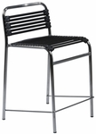 Bungie-C Flat Counter Chair in Black [02602BLK-FS-ERS]