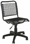 Bungie Low Back Office Chair in Black [02541-FS-ERS]