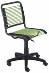 Bungie Low Back Office Chair in Green [02539-FS-ERS]
