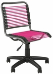 Bungie Low Back Office Chair in Pink [02543-FS-ERS]