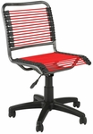 Bungie Low Back Office Chair in Red [02547-FS-ERS]