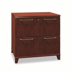 Bush® Enterprise Collection Lateral File,  30''w x 23-1/8''d x 30''h,  Harvest Cherry [BSH2954CS03-FS-NAT]