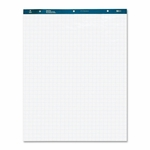 Business Source Easel Pad - 27'' x 34'' - 50 Sheets - 1'' Quad - 4/CT - White [BSN38589-FS-SP]