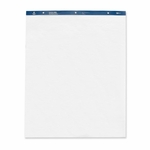 Business Source Standard Easel Pads - Plain - 27'' x 34'' - 50 Sheets - 4/CT - White [BSN38205-FS-SP]