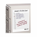 C-Line Dry -Erase Sheets - Self -Stick - 11'' x 8 -1/2'' - 25/Box - White [CLI57911-FS-SP]