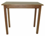Cafe Distressed Finish Wood 42''W x 36''H Rectangular Bar Table - Walnut [2242-WAL-FS-CCTCO]