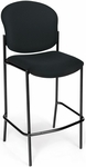 Manor Cafe Height Chair - Black Fabric [408C-805-MFO]