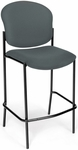 Manor Cafe Height Chair - Gray Fabric [408C-801-MFO]