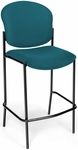 Manor Cafe Height Chair - Teal Fabric [408C-802-MFO]