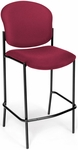 Manor Cafe Height Chair - Wine Fabric [408C-803-MFO]