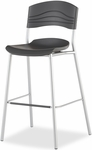 CafeWorks Cafe and Bistro 44'' H Stool - Graphite [64527-ICE]