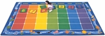 Days of the Week Calendar Rug with Month Border [1112-FS-CAP]