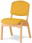 Campus 4 Armless Stacking Guest Chair - Grade 1 [CAMPUS4-GR1-FS-HSAG]